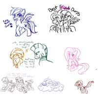 Livestream scribbles by TheSassyJessy