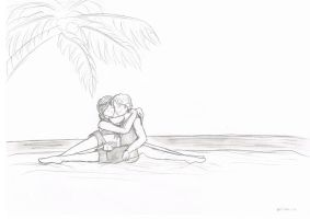 THG Fan Art - On the beach... by Miiiiiiimi