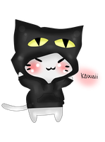 Kawaii Neko Version Digital by lukystar45
