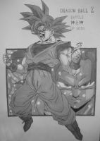 Dragonball Z - Goku SSJ God - Battle of Gods V2 by TriiGuN