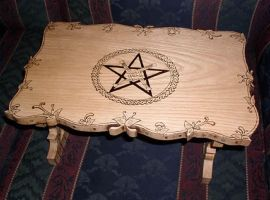 custom Brigids cross altar by 2amaltars
