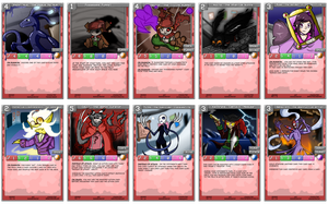 OC Card game - ForDisplayOCT -pack by Saragonvoid