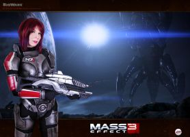 Mass Effect N7 cosplay by YurikoCosplay