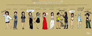 wardrobe meme by go-green