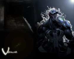 Venom wallpaper by Krylon-Method