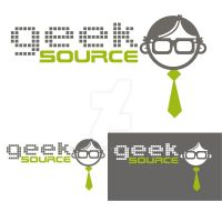 Geek Source Tie by LilFairie
