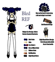 PPG OC Ref: Bled by YouAskMeFirst2