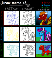 Draw Meme :3 by BlueEvelyn