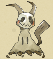 Mimikyu by CaptainMotionless