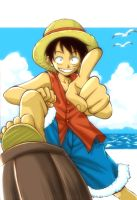 One Piece -Ruffy by lince
