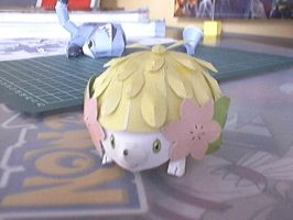 Shaymin land form papercraft by Marlous2604