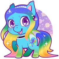 c~rainboomdragon by Miss-Glitter