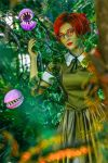 Poison Ivy in the style of 50s by Afemera
