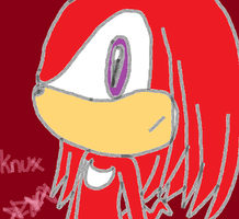 Knuckles the echidna by Nite3007