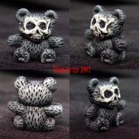 Death Bear   Mini Conversion by Undead-Art