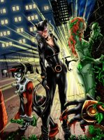 gotham city sirens by brimstoneman34