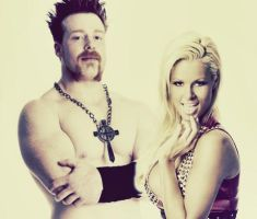 Sheamus and Maryse Graphic 3 by verusImmortalis