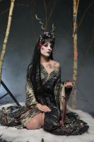 Black Geisha 01 by KittyTheCat-Stock