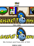 Collect to Fave Logo showcase by EspionageDB7