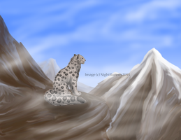 Snow Leopard Re-Do FINAL by Morgan-Michele