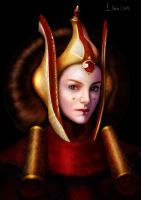 Queen_Padme_Naberrie_Amidala by float-cloud
