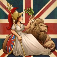 Rule Britannia by StressedJenny