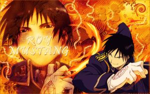 Wallpaper Roy Mustang by Timagirl