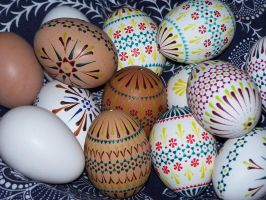 Sorbian Easter eggs by utico