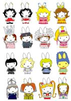 Generation Miffy- Iconic women by likimonster