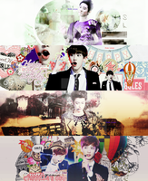 Chanyeol Pack - HPBD to my Happy Virus (Part 1) by Luhye