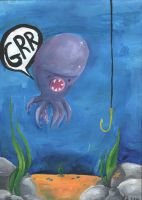 The Grr Squid by kangel