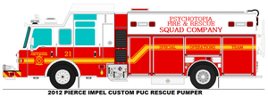 Psychotopia Fire Dept. Squad 21 by MisterPSYCHOPATH3001