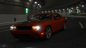 Dodge Challenger by D3516N3R