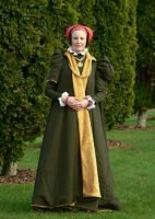 Cleves- 1560s robes by glittersweet