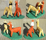 Llama Cake Topper by TheDisappearingGirl