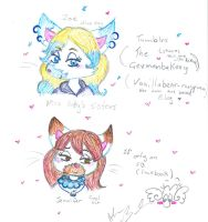 Miss Kitty's sisters by Kittychan2005