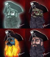 Pirate LeChuck by Irishmile