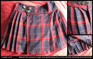My Handmade Kilt by bolt-for-home