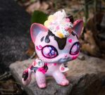 Sweet Cupcake Kitty LPS Custom by squeekaboo