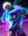 MLP - Princess Luna by WingsterWin