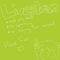 Live Stream   CLOSED   by 0ColorPaint0