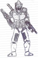 Halo 3 spartan by TheirOwn