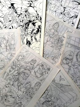 YoungBlood 07 (1996) original arts for sale by rogercruz