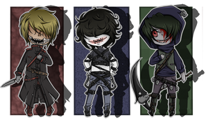 Creepypasta Adopts by Decora-Chan