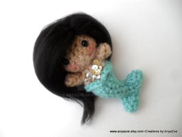 Sade Mermaid Amigurumi by AnyaZoe