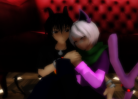 [MMD] Heaven and Fire- Video link by khftw