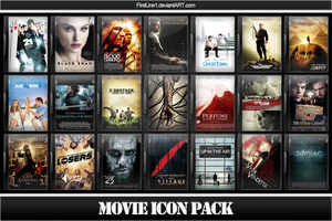 Movie Icon Pack 29 by FirstLine1