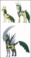 Grass antelopes by shinyscyther