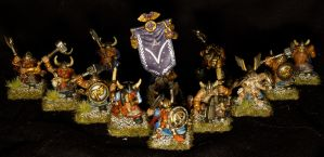 Dwarf Warriors Regiment by Teuril