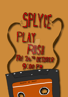 Splyce Band Poster by MrHodgey